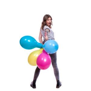 "BALLOONS UNITED - BELBAL Round Balloon 14"" (38cm) Standard"