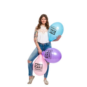 "BALLOONS UNITED - BELBAL Round Balloon 14"" (38cm) Think Big"