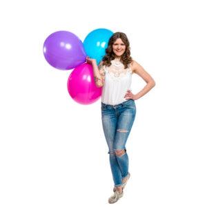 "BALLOONS UNITED - BWS Round Balloon 16"" (40cm)"