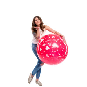 "BALLOONS UNITED - CATTEX Giant Balloon 32"" (80cm) I Love You"