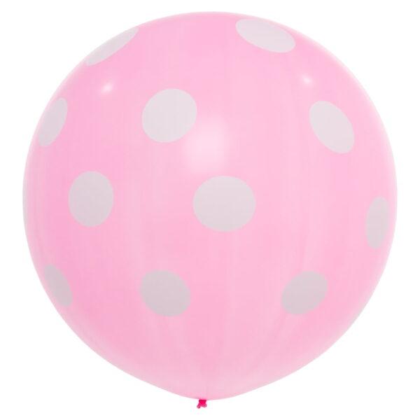 "BALLOONS UNITED - CATTEX Giant Balloon 32"" (80cm) Polka Dots"