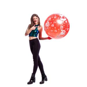 "BALLOONS UNITED - CATTEX Giant Balloon 32"" (80cm) Santa Claus"