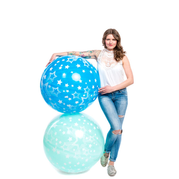 "BALLOONS UNITED - CATTEX Giant Balloon 32"" (80cm) Shining Star"