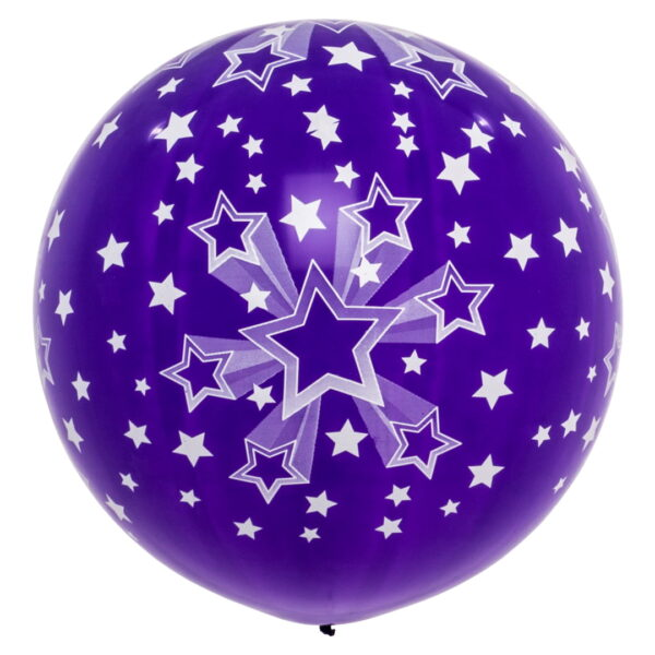 "BALLOONS UNITED - CATTEX Giant Balloon 32"" (80cm) Shining Star"