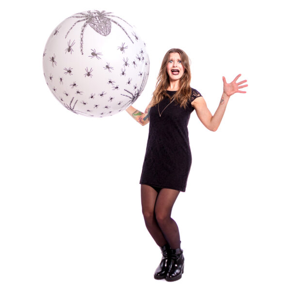 """BALLOONS UNITED - CATTEX Giant Balloon 32"""" (80cm) Spiders"""