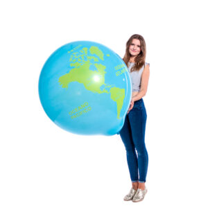 "BALLOONS UNITED - CATTEX Giant Balloon 36"" (90cm) Globe"