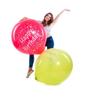 "BALLOONS UNITED - CATTEX Giant Balloon 36"" (90cm) Happy Birthday"