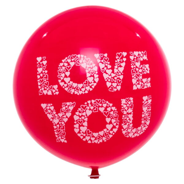 "BALLOONS UNITED - CATTEX Giant Balloon 36"" (90cm) Love You"