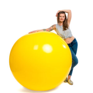 "BALLOONS UNITED - CATTEX Giant Balloon 55"" (140cm)"