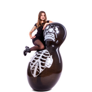 "BALLOONS UNITED - CATTEX Giant Figure Balloon 67"" (170cm) Doll Monster"
