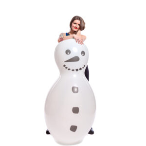 "BALLOONS UNITED - CATTEX Giant Figure Balloon 67"" (170cm) Doll Snowman"