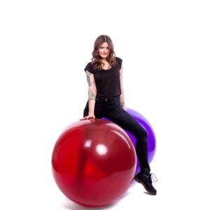 "BALLOONS UNITED - GLOBOS Giant Balloon 36"" (90cm) Crystal"