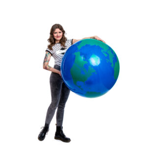 "BALLOONS UNITED - QUALATEX Giant Balloon 36"" (90cm) Globe"