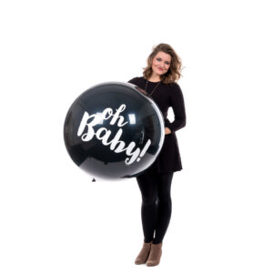 "BALLOONS UNITED - QUALATEX Giant Balloon 36"" (90cm) Oh Baby!"