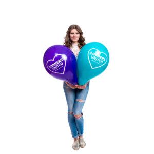 "BALLOONS UNITED - QUALATEX Round Balloon 16"" (40cm) Looners United"