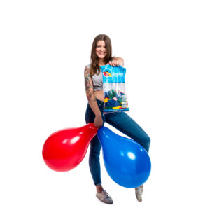 "BALLOONS UNITED - QUALATEX Round Balloon 16"" (40cm) Standard Colormix - Bag of 50pcs"