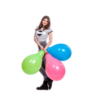 "BALLOONS UNITED - CATTEX Longneck Balloon 32"" (80cm) Standard"