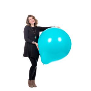 "BALLOONS UNITED - SEMPERTEX Giant Balloon 36"" (90cm)"
