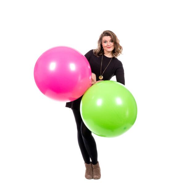 """BALLOONS UNITED - SEMPERTEX Round Balloon 24"""" (60cm) Standard"""