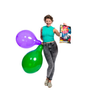 """BALLOONS UNITED - TUFTEX Round Balloon 17"""" (43cm) Crystal Colormix - Bag of 72pcs"""