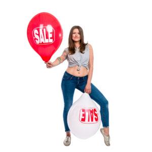 "BALLOONS UNITED - TUFTEX Round Balloon 17"" (43cm) Sale"