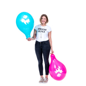 "BALLOONS UNITED - TUFTEX Round Balloon 17"" (43cm) Unicorn"