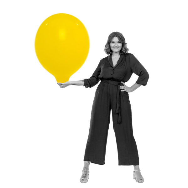 "BALLOONS UNITED - TUFTEX Round Balloon 24"" (60cm) Standard"