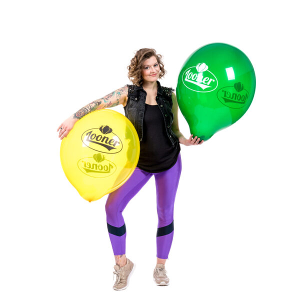 "BALLOONS UNITED - TUFTEX Round Balloon 24"" (60cm) Team Looner"